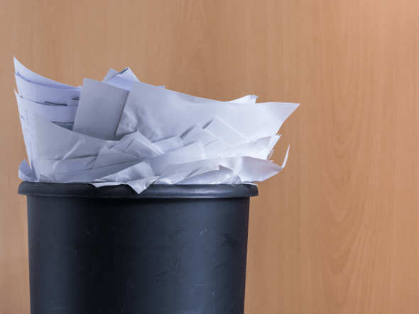 Go paperless and save money